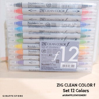 Harga Giraffe stationery ZIG CLEAN COLOR f Set 12 Colors