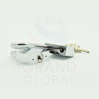 GLOBAL | แม่กุญแจชุบโครเมี่ยม ลูกปืน คอสั้น 30 มม. - 5