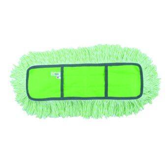 GreenHouse อะไหล่ม็อบดันฝุ่นผ้าลาย 16  Cotton (เขียว/ขาว)