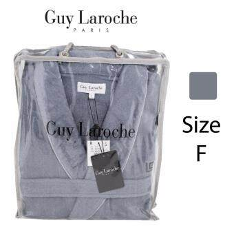 GuyLaroche Bathrobe Collection Free Size (Grey) - 4