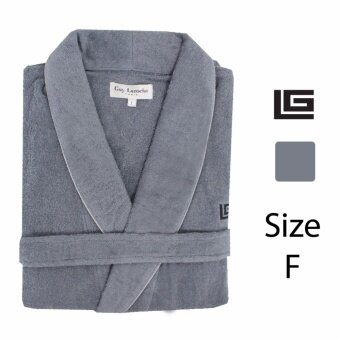 GuyLaroche Bathrobe Collection Free Size (Grey) - 3