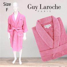 GuyLaroche Bathrobe Collection Free Size (Pink)