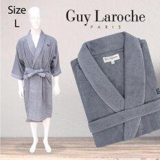 GuyLaroche Bathrobe Collection Size L  (Grey)