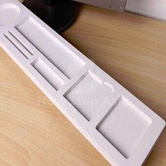 Hakone ชั้นวางของหน้าคอมพิวเตอร์ ขั้นวางของบนโต๊ะคอมพิวเตอร์ชั้นวางของ ถาดวางของ ดีไหม