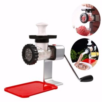 Hand Meat Grinder  Kitchen Meat Meat Slicer Cutter Atainless SteelAutomatic Sausage Filler Vegetable Mincer Chopper Machine hot -intl