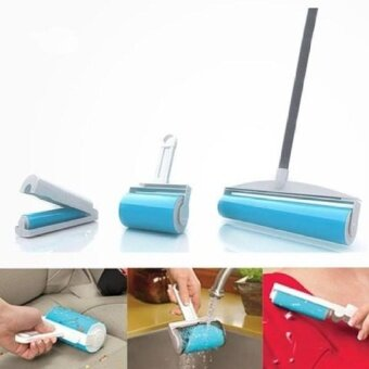 HappyLife 3-In-1 Schticky Washable Reusable Easy Sticky RollerBuddy Pickersticky Roller Cleaner Lint Remover Set