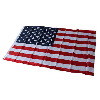 HengSong American US Flag Polyester Printed Stars and Stripes USA Banner Flag - intl