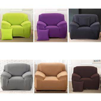 High Quality Store New Fashion L-Shape Textile Spandex 1 SeaterSofa Cover Furniture Protector Couch Slipcover Home DecorationBlack