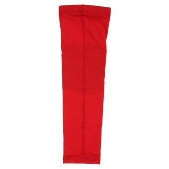 HKS Basketball Honeycomb Pad Crashproof Armband Elbow Red - intl