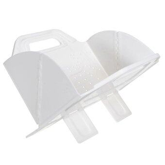 ต้องการขาย Home Studio ตะกร้าล้างผัก Flat Fold Colander - White