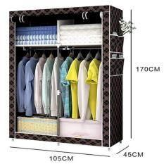 HOMMY HOME ตู้เสื้อผ้า 2 บล๊อค  - ลายสก๊อต02