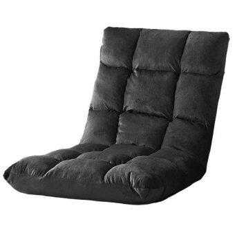 เปรียบเทียบราคา HOUSE BRAND เก้าอี้ญี่ปุ่นปรับเอนได้ 6 ระดับ ขนาด 80 x 40 x 12ซม.(Black)