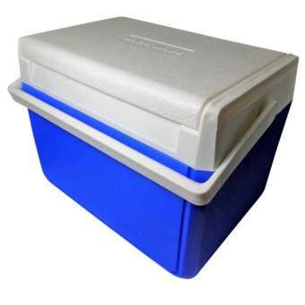 Thai Style กระติกน้ำแข็งปิกนิคขนาด 10 ลิตร แบบฝาสไลด์ สีน้ำเงิน