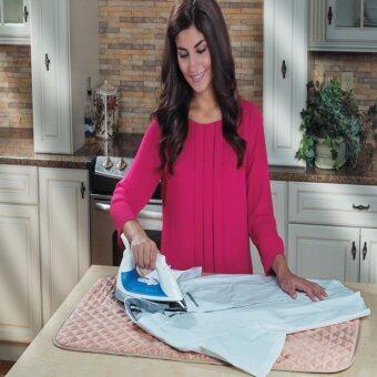 iron expressแผ่นรองรีดอเนกประสงค์รีดผ้าได้ทุกที่ เรียบ เร็ว ประหยัดพื้นที่สินค้าขายดีทางทีวี