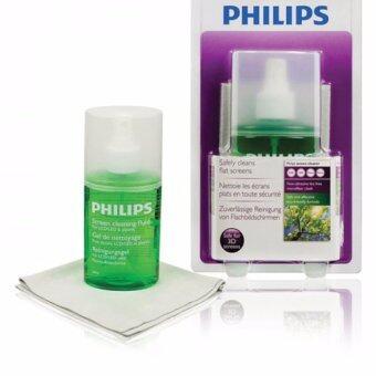 Philips อุปกรณ์ทำความสะอาดหน้าจอ โน๊ตบุ๊ค Screen cleaner โทรศัพท์ แท็บเล็ต สมาร์ทโฟน LCD/ LED/ Plasma 200ml รุ่น SVC1116G/10