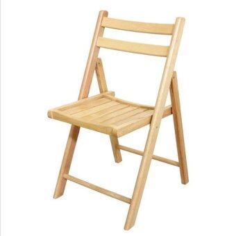 Asia เก้าอี้พับไม้ยางพารา C24