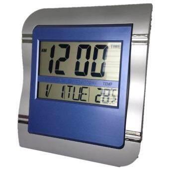 GooAB Shop นาฬิกาแขวนผนัง ดิจิตอล ขนาด 9 นิ้ว + ถ่าน AA 2 ก้อน