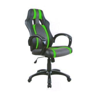 TGCF เก้าอี้นักแข่ง รุ่น TGFY-1510 (สีดำ/เขียว)