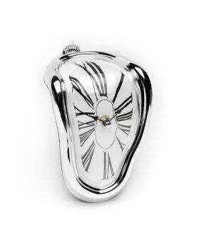 Harga Salvador Dali Time Warp Melting Clock Silver Time
