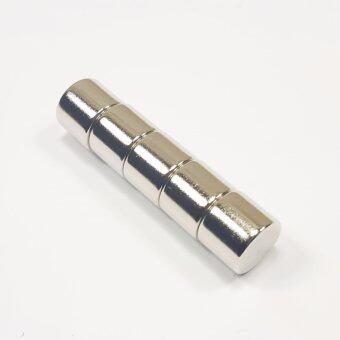 แม่เหล็กแรงสูง นีโอไดเมียม ขนาด 12mmx10mm (5 ชิ้น)