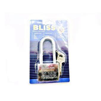 แม่กุญแจ BLISS รุ่น Extra-CR 40 พร้อมดอกกุญแจ 3 ดอก ( สีเงิน )