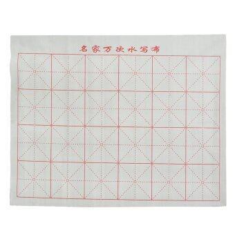 เมจิกผ้าสักหลาดสำหรับการฝึกเขียนอักษรจีนสีขาว