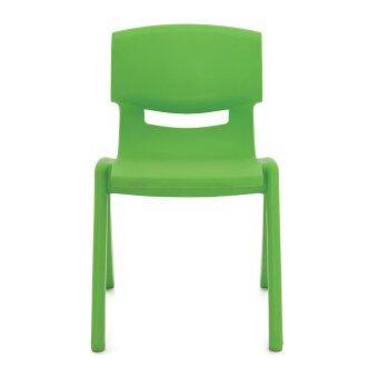 Apex เก้าอี้พลาสติกเอนกประสงค์ สำหรับเด็กโต รุ่น YCX-004 M (สีเขียว)