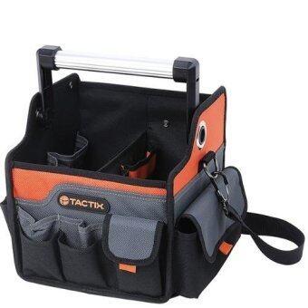 Mustme Tactix 323161 Tooling bag กระเป๋าเครื่องมือช่าง 10 นิ้ว (สีดำ/สีส้ม)