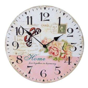 Kristra Home&Decoration นาฬิกาแขวนผนัง แนววินเทจ รุ่น T60535