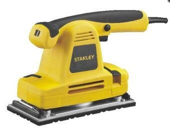 STANLEY SSS310 เครื่องขัดกระดาษทรายแบบสั่น 115x280มม. 310วัตต์ ปรับรอบได้ พร้อมถุงเก็บฝุ่น