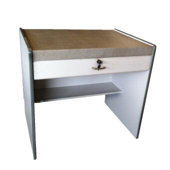 TGCF โต๊ะทำงาน 083 - สีแกรนิตเทา