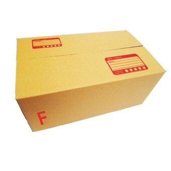 Asia กล่องไปรษณีย์ กล่องพัสดุ ขนาด F (ขนาด ฉ) 10 ใบ