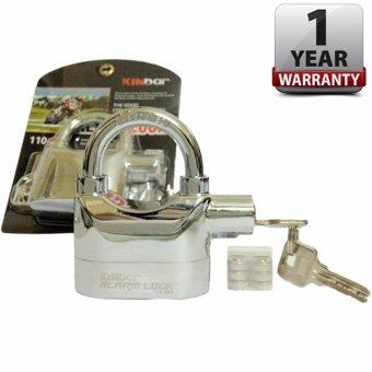 Kinbar Alarm Lock กุญแจกันขโมย กุญแจเตือนภัย สัญญาณกันขโมย สั้น Silver