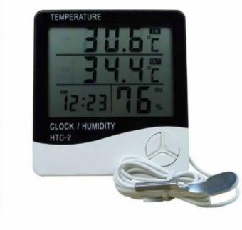 DUDEESHOP เครื่องวัดอุณหภูมิติดผนัง