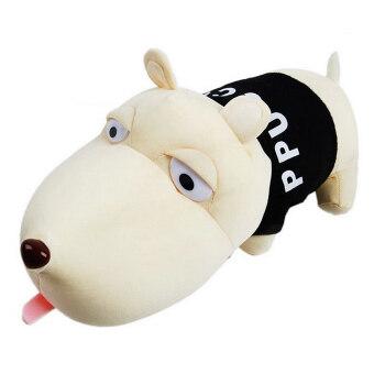การตกแต่งรถฟอกอากาศไม้ไผ่ถ่านดูดซับกลิ่นยาดับกลิ่นกระเป๋าตุ๊กตาสุนัข (สีดำ)