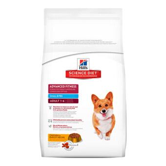 Hill's Science Diet Canine Adult 1-6 Advanced Fitness Small Bites อาหารสุนัขชนิดเม็ดสูตรสุนัขโต อายุ1-6ปี (เม็ดขนาดเล็ก) ขนาด4กก.