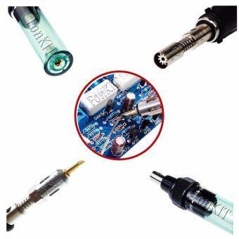 T3A หัวแร้ง ไร้สาย พร้อม หัวพ่น ไฟฟู่ อเนกประสงค์ กระทัดรัด ให้ความร้อนสูง ปรับความร้อนได้ ใช้งานได้ทันที บัดกรี แผ่นปริ้น PCB อิเล็กทรอนิกส์ พ่นไฟ ท่อหด เชื่อม พลาสติก อะคริลิค โลหะ เหล็ก อลูมิเนียม ทองเหลืองครบ