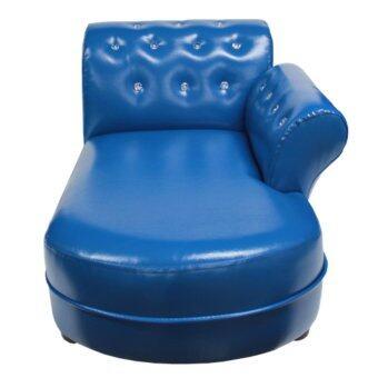 ECF Furniture CRYSTAL DAY BED( Sofa เด็ก ) - สีน้ำเงิน