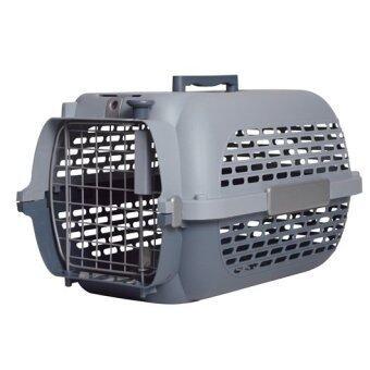 Dogit กล่องเดินทางน้องหมา/น้องแมว รุ่น Voyaguer ไซส์ M (สีเทา)