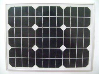Mono-Crystalline Solar PVแผงเซลล์แสงอาทิตย์ 10 วัตต์