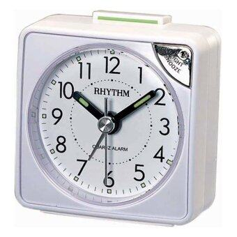 RHYTHM นาฬิกาปลุก รุ่น CRE211NR03 (White)