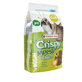 Versele อาหารกระต่ายสูตรประหยัด คริสปี้ กระต่าย Crispy Muesli Rabbits Food 1 Kg.