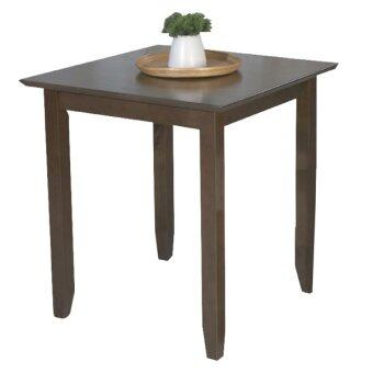 ELEGA Furniture โต๊ะ รุ่น คลิ๊ก - สีน้ำตาลเข้ม