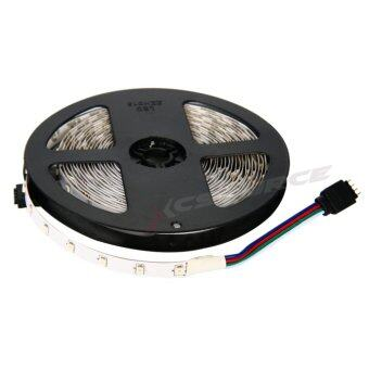 ไฟเส้น LED 5m 3528 RGB 60/M (2 ชิ้น) + 12V 3A Power supply + 24key IR Remote Control EU Plug (image 3)