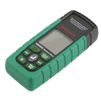 โอ้ Mastech MS6900 อุณหภูมิความชื้นไม้วัดความชื้นแบบทดสอบสีเขียว และสีดำ