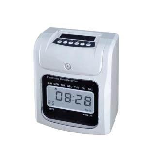 DJSHOP เครื่องตอกบัตร เครื่องบันทึกเวลานาฬิกาตอกบัตร Time Recorder รุ่น S-960D