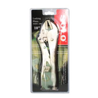 โซโล คีมล๊อค โครเมียม 10 นิ้ว อุปกรณ์ช่าง รุ่น 2000 (สีเงิน)