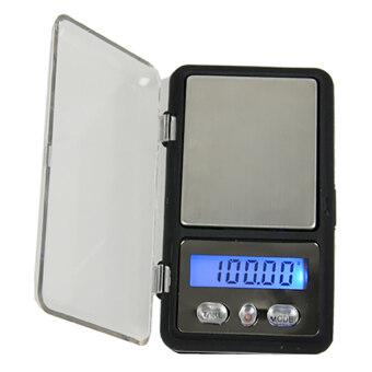 Azone 100กรัม/0.01กรัมน้ำหนักชั่งดิจิตอลเครื่องเพชรพลอย (สีเทา)