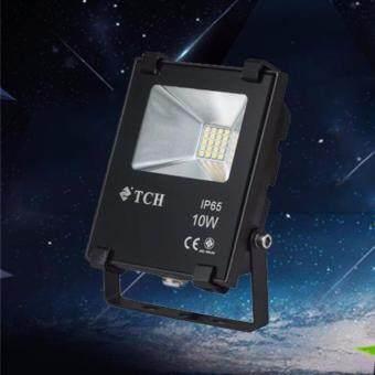 Light Farm โคมสปอร์ตไลท์ โคมไฟฟลัดไลท์ LED 10W 220V แสงขาว เดย์ไลท์ 6500K (TCH) แพ็ค 1 ชุด