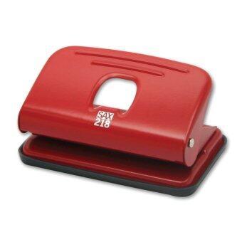 SAX เครื่องเจาะกระดาษ Easy Punch (S) รุ่น 218 - Red